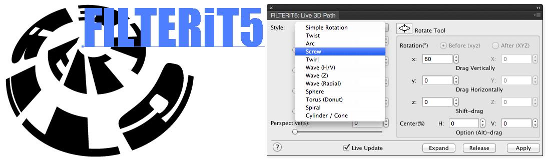 FILTERiT 5 - Adobe Illustrator Plugin | CValley, Inc